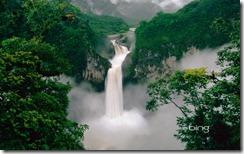 Coca Falls on the Quijos River, Cayambe-Coca Reserve, Ecuador