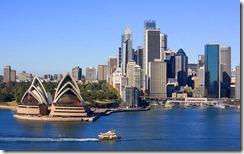 Sydney Opera House and Skyline, Sydney, Australia