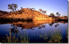 Finke River near Glen Helen, West Macdonnell Range, Northern Territory, Australia