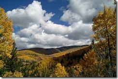 Aspen Vista from the road below