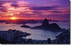 Morro do Pão de Açúcar no Rio de Janeiro, Brasil (Sugarloaf Mountain at Rio de Janeiro, Brazil)