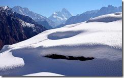 गढ़वाल हिमालय Gharwal Himalayas, Auli, Chamoli, Uttaranchal, India