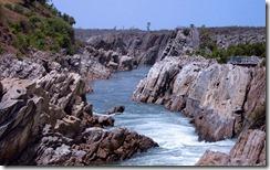 नर्मदा नदी River Narmada, Jabalpur, Madhya Pradesh, India