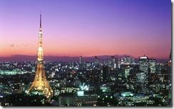 東京タワー (Tokyo Tower and Roppongi, Japan)