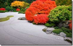 The Flat Garden at the Portland Japanese Garden, Portland, Oregon