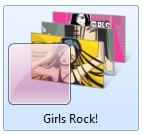 girlsrockwindows7theme