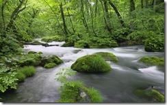 清流 (River in Akita Prefecture, Japan)