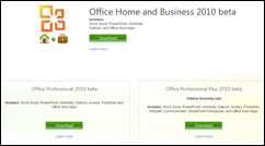 office2010betadownload