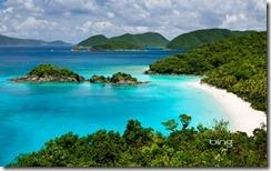 Trunk Bay on St. John, U.S. Virgin Islands