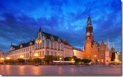 Zabudowa miejska, Rynek we Wrocławiu, Dolnośląskie (Municipal buildings, Rynek Square, Wroclaw, Dolnoslaskie Province)