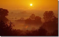 Zachód słońca na Mazowszu (Sunset in the Mazovia Region)