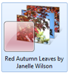 redautumnleaveswindows7themelogo