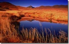 Golden Gate Highlands National Park at Sunrise