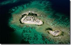 A sandy cay off of Útila Island, Honduras