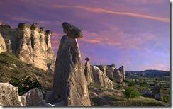 Göreme Milli Parkında Peri Bacaları, Kapadokya, Nevşehir, Türkiye (The Fairy Chimneys at Göreme National Park, Cappadocia, Nevsehir, Turkey)