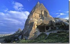 Göreme'de Peri Bacaları, Kapadokya , Nevşehir, Türkiye (The Fairy Chimneys, Göreme, Cappadocia, Nevsehir, Turkey)