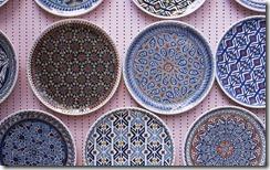 Seramik Tabaklar, Kütahya, Türkiye (Ceramic Plates, Kutahya, Turkey)