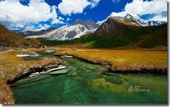四川亚丁 (Scenery of Yading,Daocheng,Sichuan Province)