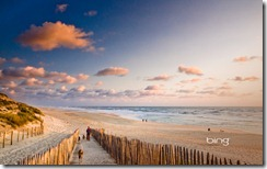 Carcans Beach on the Bay of Biscay, Gironde, France