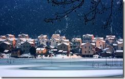 秀山雪景 (The snow scene at Xiushan village,Nanjing)