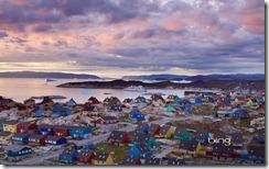 Town of Ilulissat, Disko Bay, Greenland