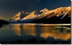 西藏然乌湖 (Ranwu Lake in Tibet)
