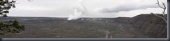 Kilauea Crater Panorama 2