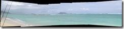Lanikai Beach Panoramic