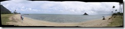 Waikane (Chinamans Hat) Panoramic Sea