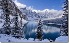 Wenkchemna Peaks and Moraine Lake, Banff National Park, Alberta, Canada