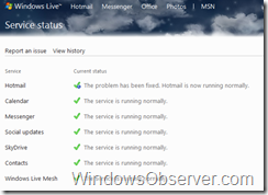 windowslivestatusmainpage