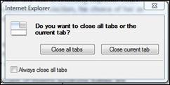tabclosure