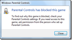 Setting Up Windows 7 Parental Controls