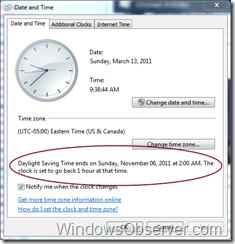Did Your Clocks Change Last Night?