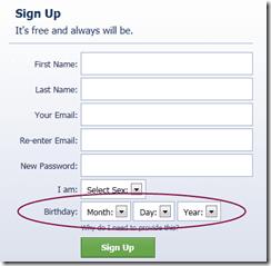 facebooksignupform