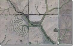 Farm fields northeast of Ottumwa, Iowa