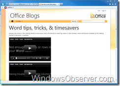 Office 2010 Screen Saver Shares Tips and Tricks