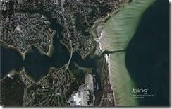 Bayou Grande meets Pensacola Bay, Warrington, Florida