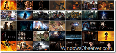 Paramount Pictures Movies Dynamic RSS Windows 7 Theme