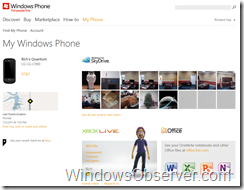 Microsoft My Windows Phone 7 Site Gets A Makeover