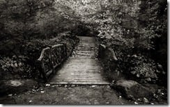 Old footbridge, New York, U.S.