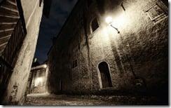 Old town streets, Talinn, Estonia