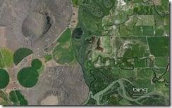 Menan Buttes Southwest of Rexburg, Idaho
