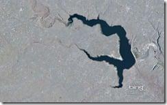 Reservoir East of Phillips, Montana