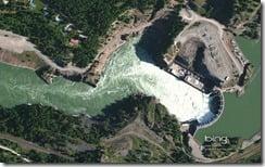 Cabinet Gorge Dam Northeast of Coeurd Alene
