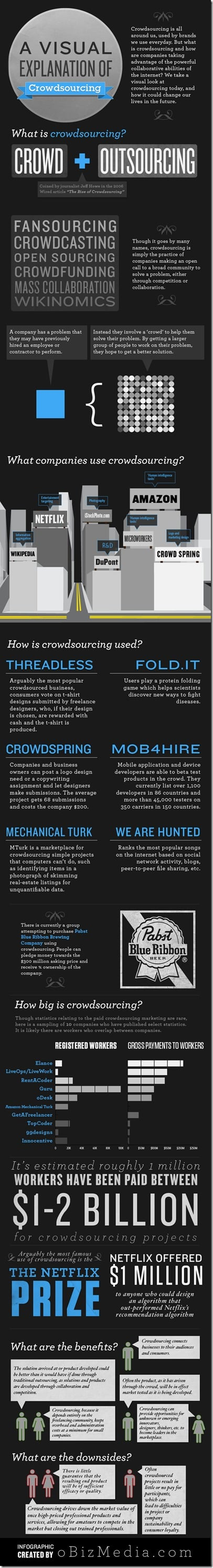 Infographic: What Is Crowdsourcing?
