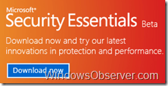 Microsoft Security Essentials Beta Goes Public