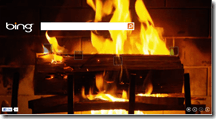 Bing Says Happy Holidays With The Classic Yule Log