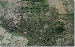 Irrigation canals Northwest of Laramie, Wyoming
