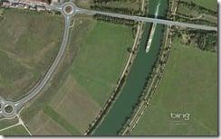 La Sa�ne River East of M�con, France